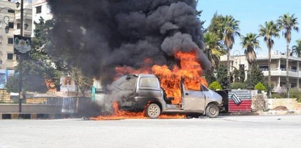 تفجيران يستهدفان مسؤولين اثنين في  حكومة الانقاذ  و هيئة تحرير الشام  في ادلب