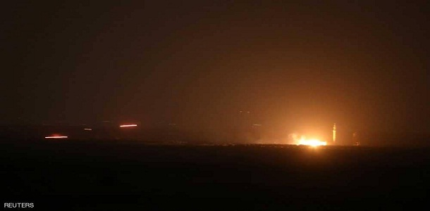 مصدر عسكري: الدفاعات الجوية تتصدى لهجوم صاروخي من شمال لبنان باتجاه مصياف